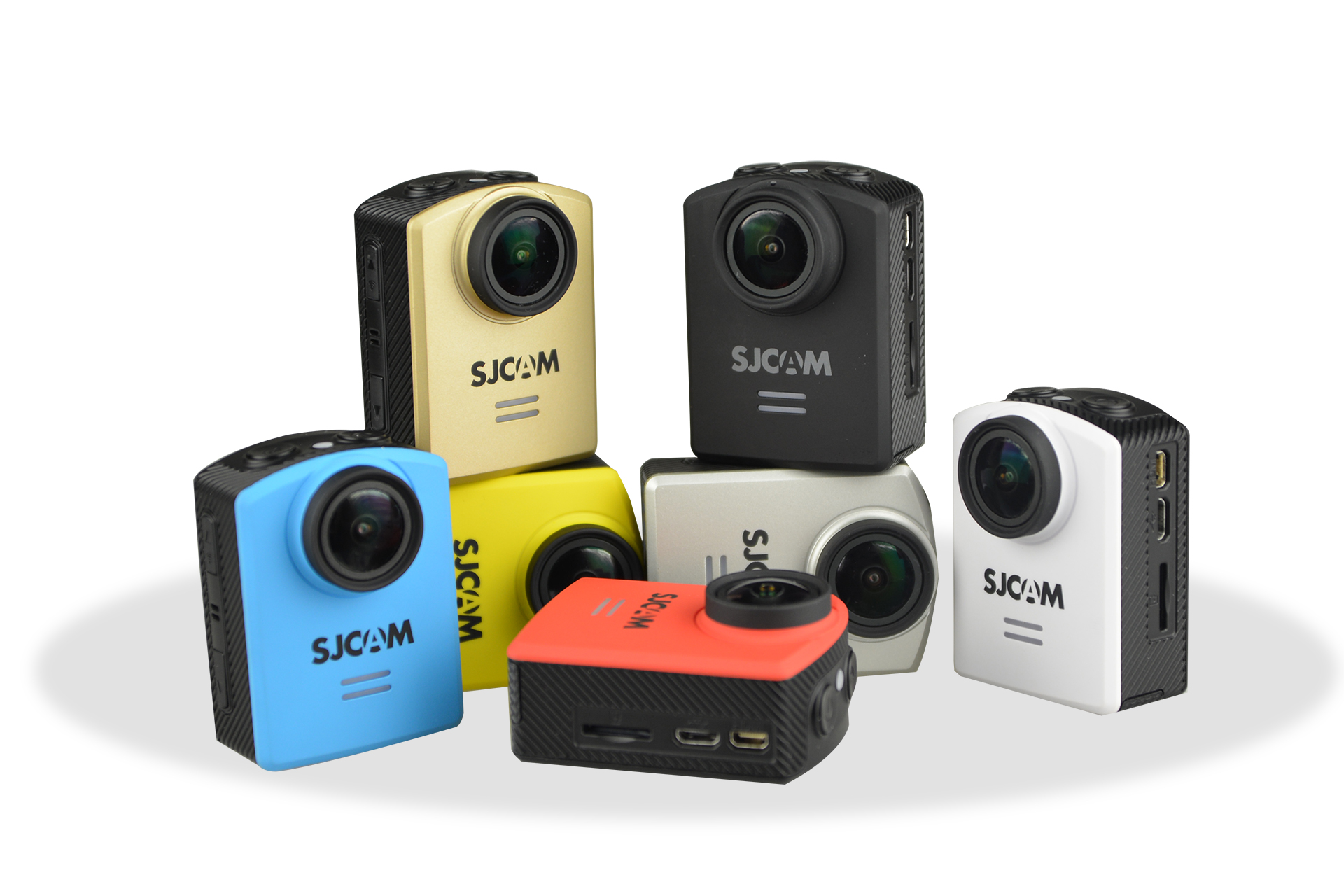 SJCAM M20 (M20+) 7 Colors Confirmed: Picture Gallery