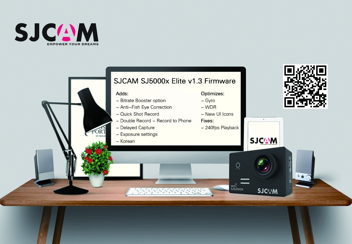 SJCAM SJ5000x Elite v1.3 Firmware + Change Log – Massive Upgrade!