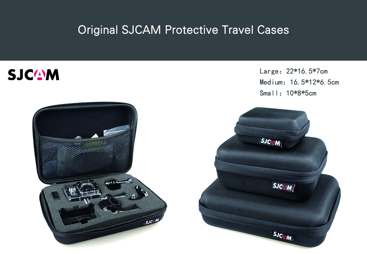 Original SJCAM Protective Travel Cases (3 sizes)