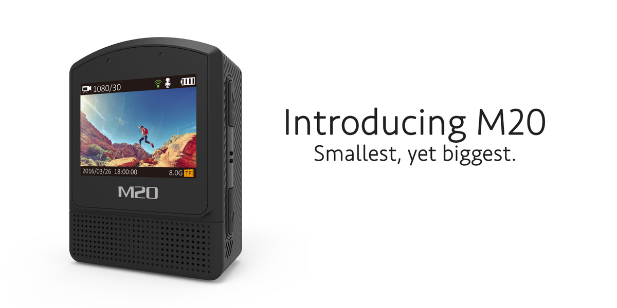 SJCAM introduces M20: Smallest in size, biggest in features!