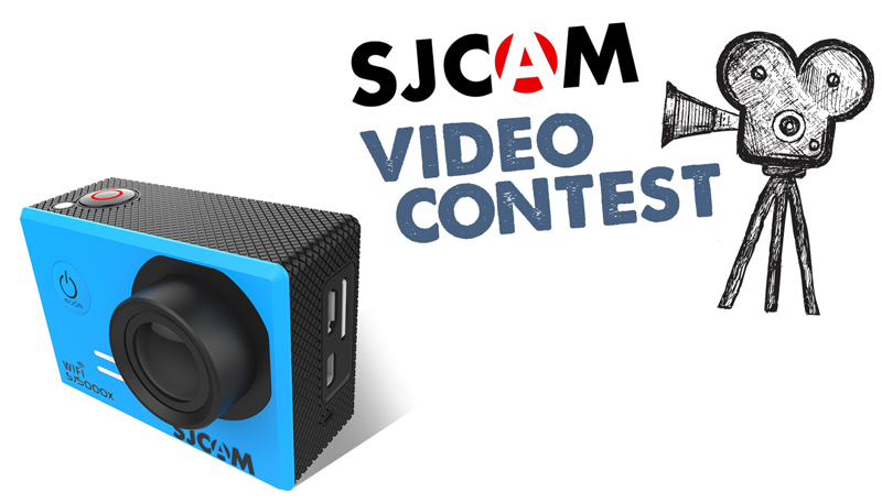 3rd edition of the SJCAM Video Contest, enter to win a new camera!