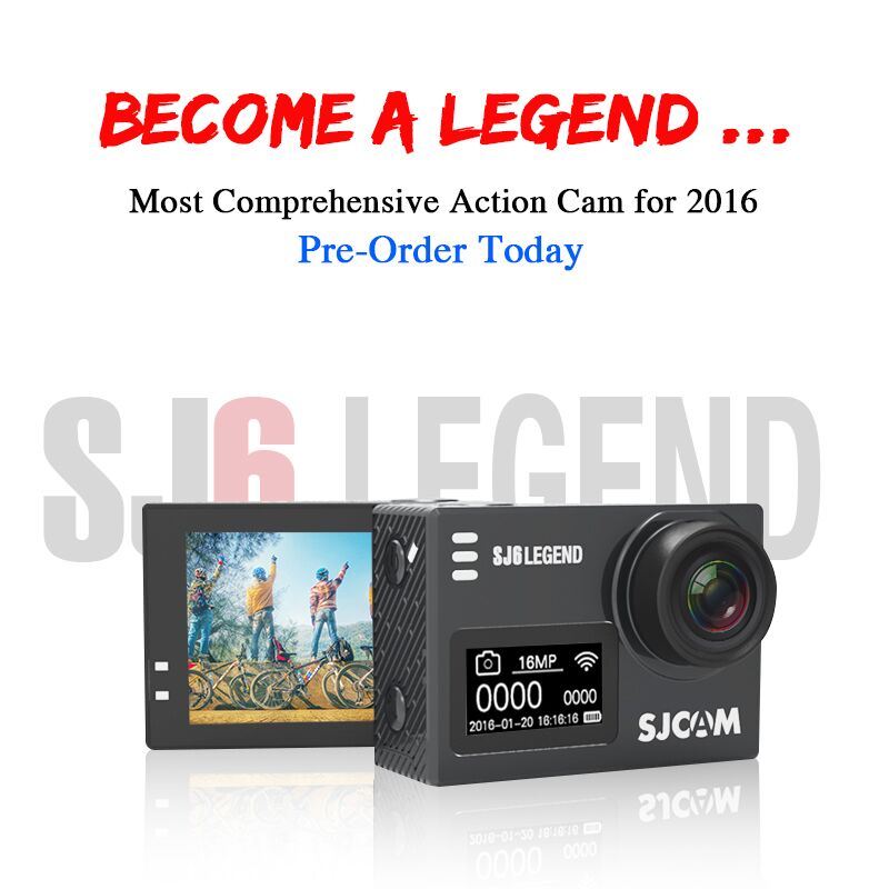 SJCAM SJ6 Legend Action Camera – Now Accepting Pre-orders