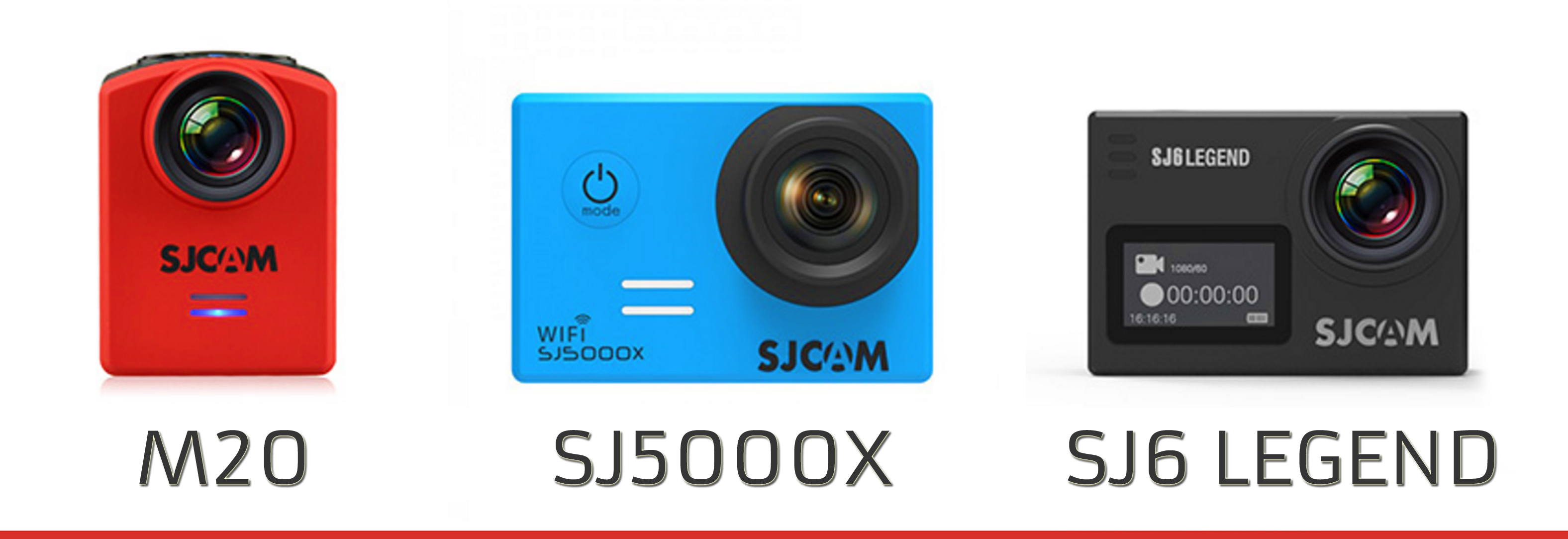 These 3 SJCAM cameras are 4K-capable!
