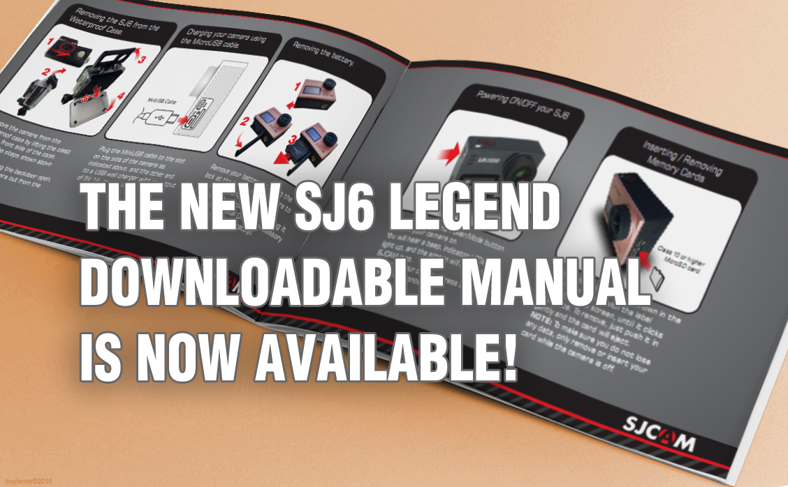 The SJ6 LEGEND's Official Manual Is Out!