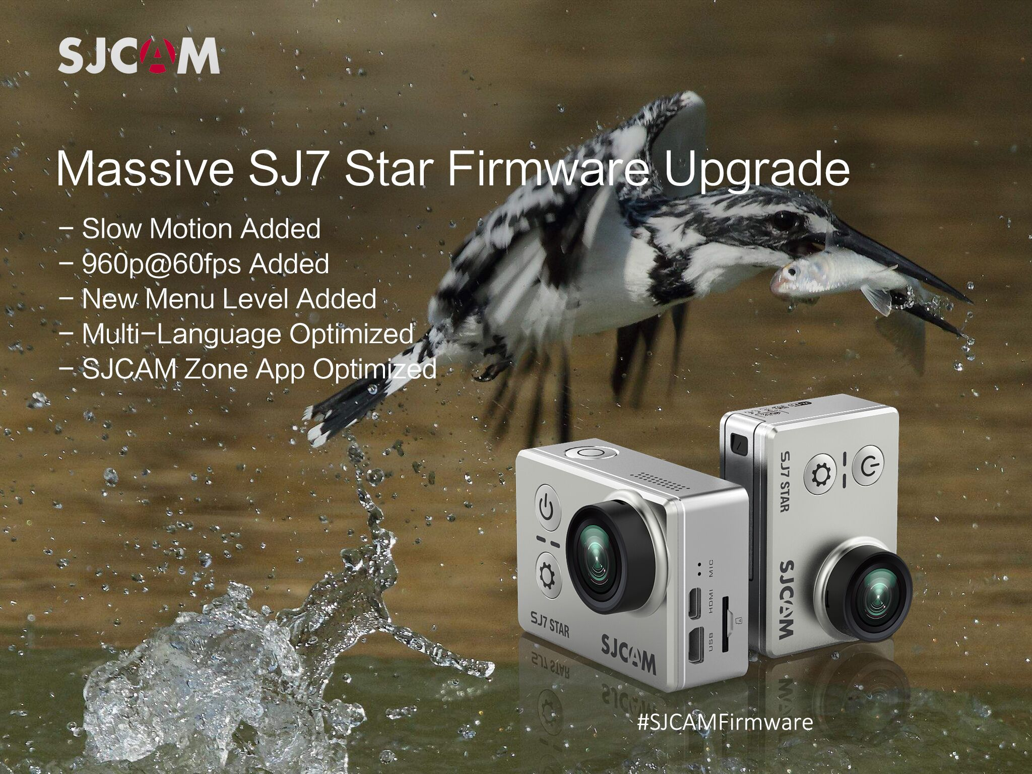 SJCAM SJ7  V1.13 Firmware Upgrade – Massive Must-Have Update