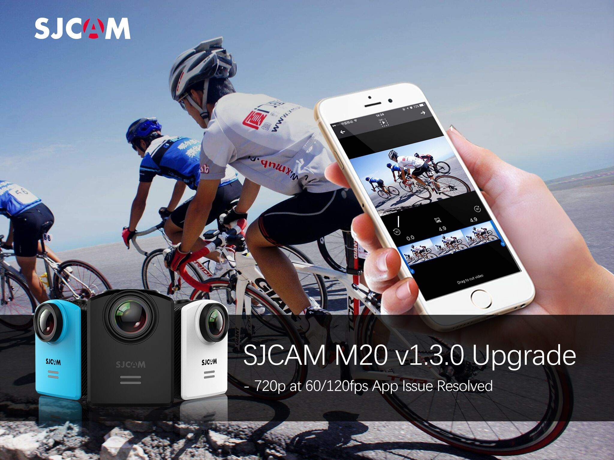 SJCAM M20 V1.3.0 Firmware Upgrade – April 13 Edition