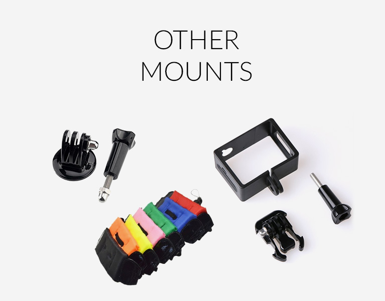 frame mount for sj4000 series cameras