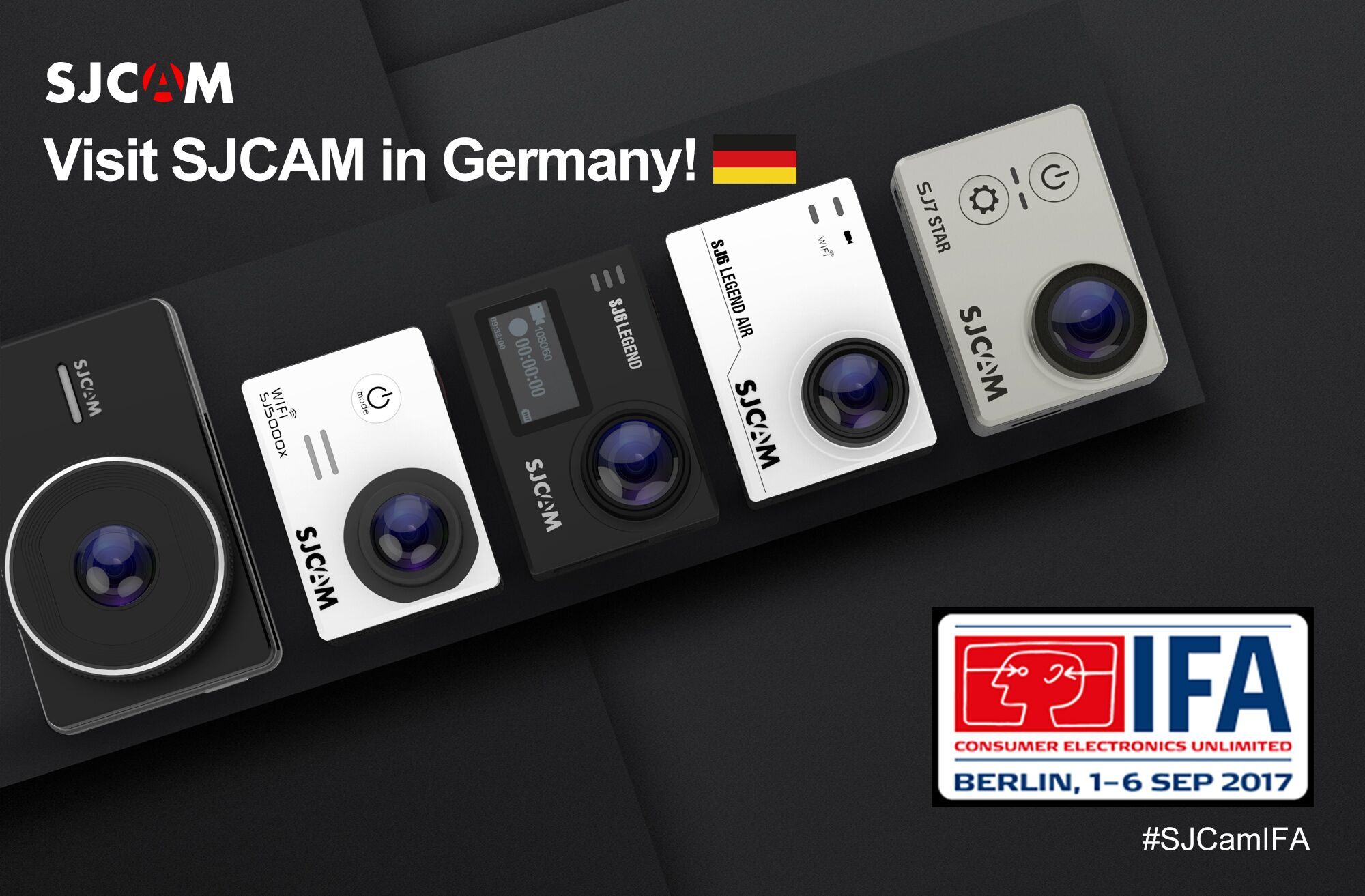 SJCAM at IFA in Berlin 2017