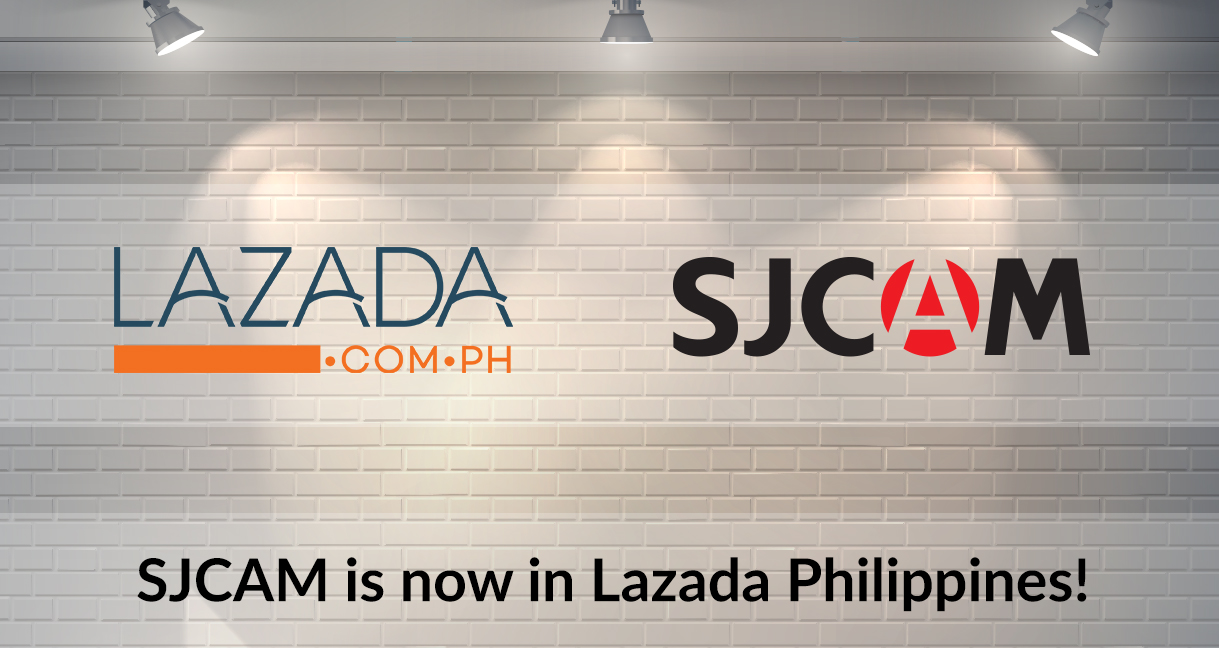 SJCAM Now Has An Official Lazada Store In The Philippines!