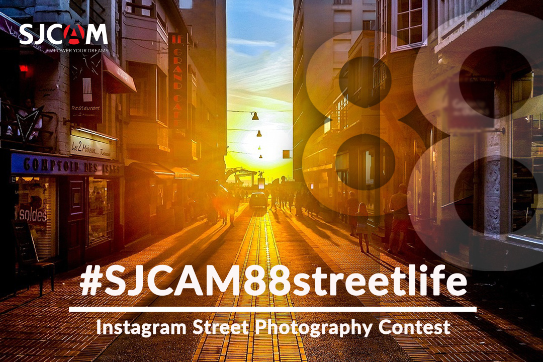 SJCAM DAY 8.8 StreetLife Photo Contest