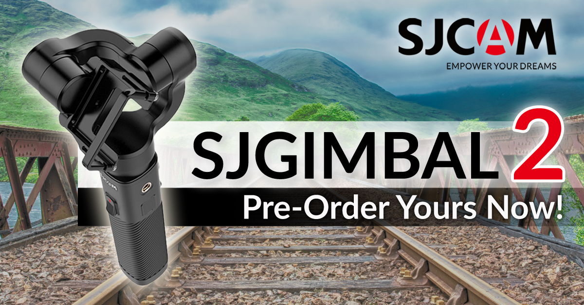 SJGimbal 2 Now Available On Pre-Order!