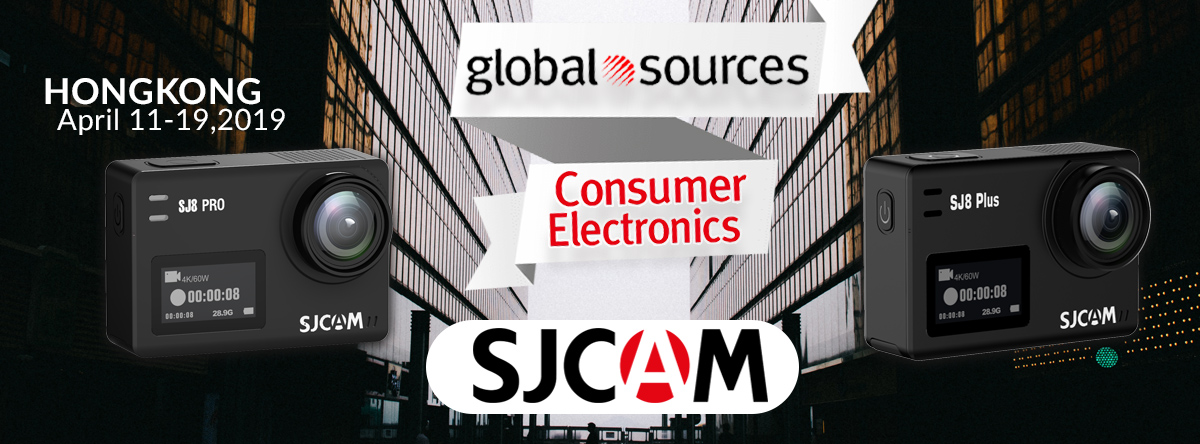 SJCAM at Global Sources Consumer Electronics Trade Fair, Hong Kong