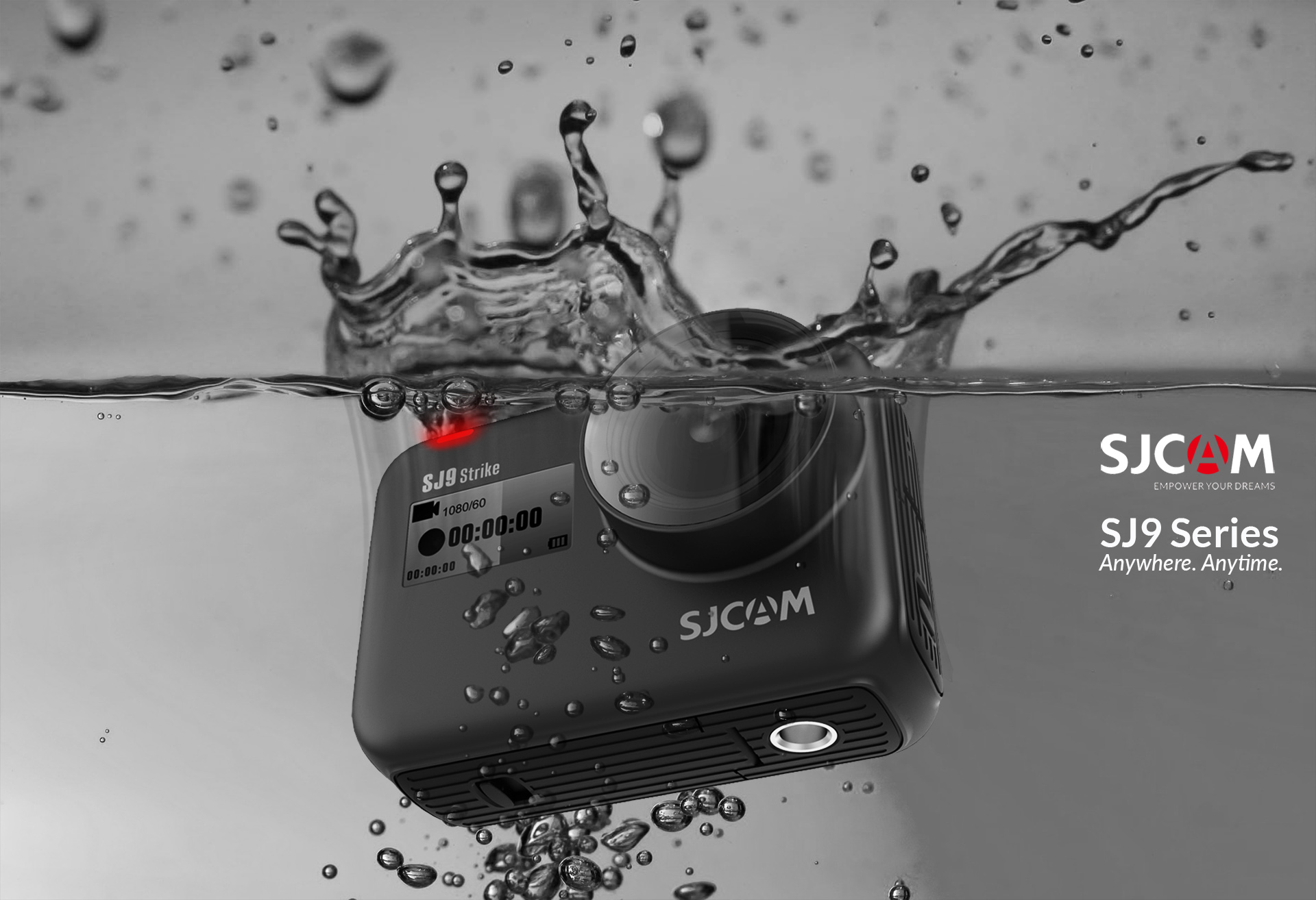The SJ9 Series. All New SJCAM Superpowers.