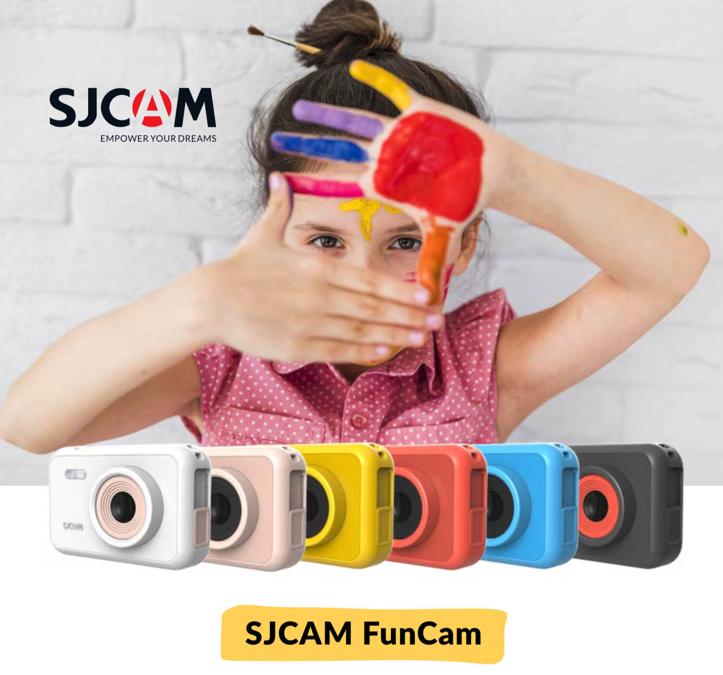 First Digital Camera from SJCAM dedicated for Kids