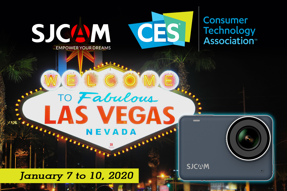 SJCAM is at CES 2020!
