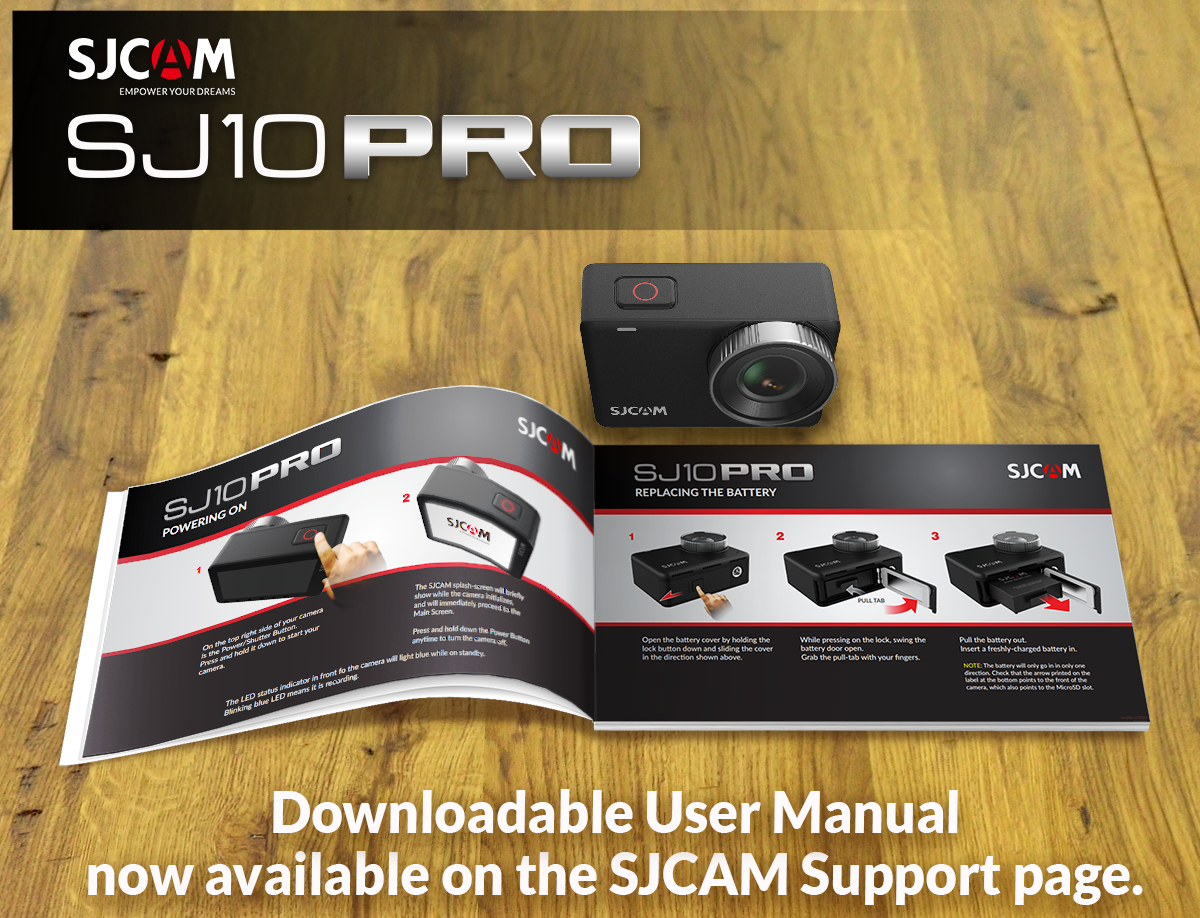SJ10 PRO Official Manual Now Available